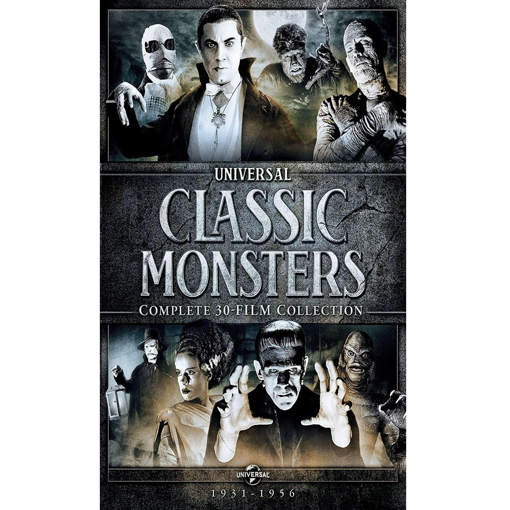 Universal Classic Monsters DVD Collection (Complete 30-Film Collection) Universal Studios DVDs & Blu-ray Discs > DVDs > Box Sets