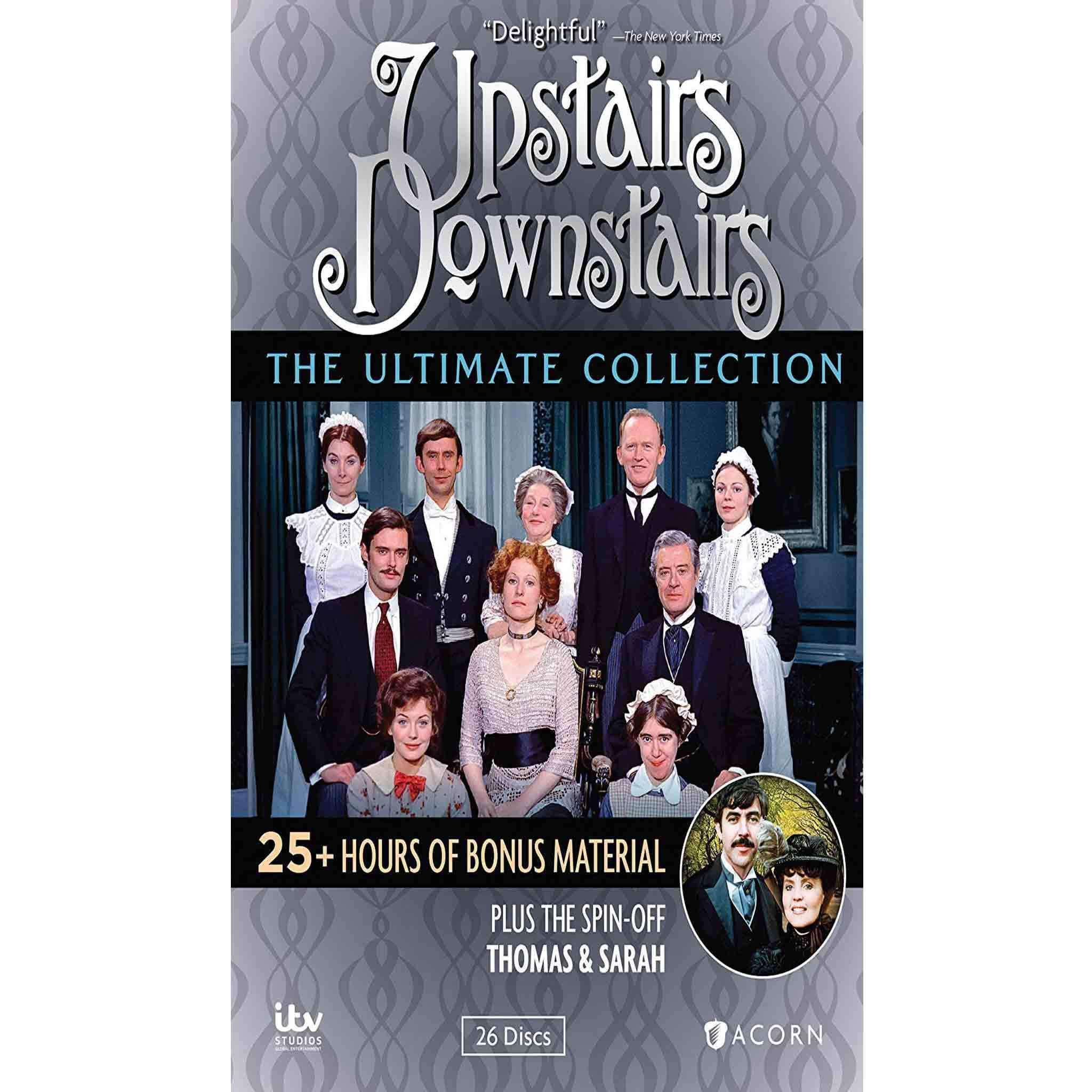 Upstairs Downstairs DVD Complete Series Box Set Acorn Media DVDs & Blu-ray Discs