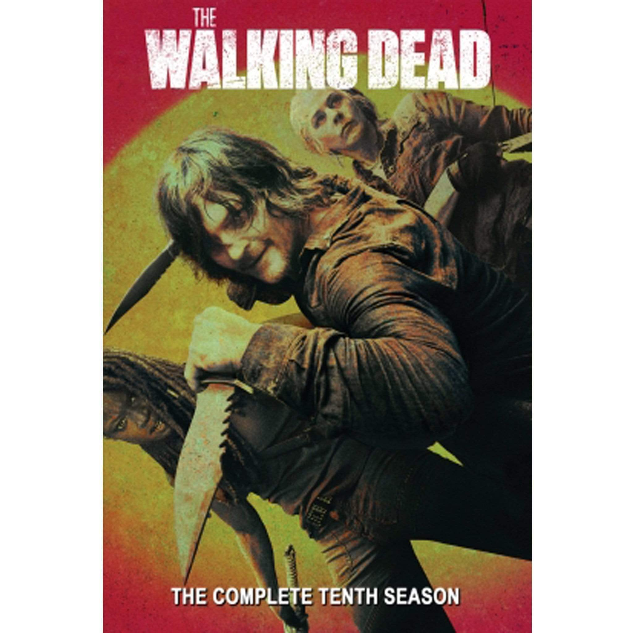 Walking Dead Season 10 DVD AMC DVDs & Blu-ray Discs