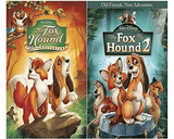 Walt Disney's The Fox and the Hound 1&2 DVD Set 2 Movie Collection Walt Disney DVDs & Blu-ray Discs > DVDs