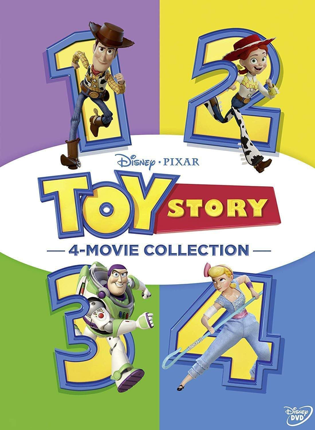 Walt Disney's Toy Story 1-4 Movie Collection DVD Walt Disney DVDs & Blu-ray Discs > DVDs