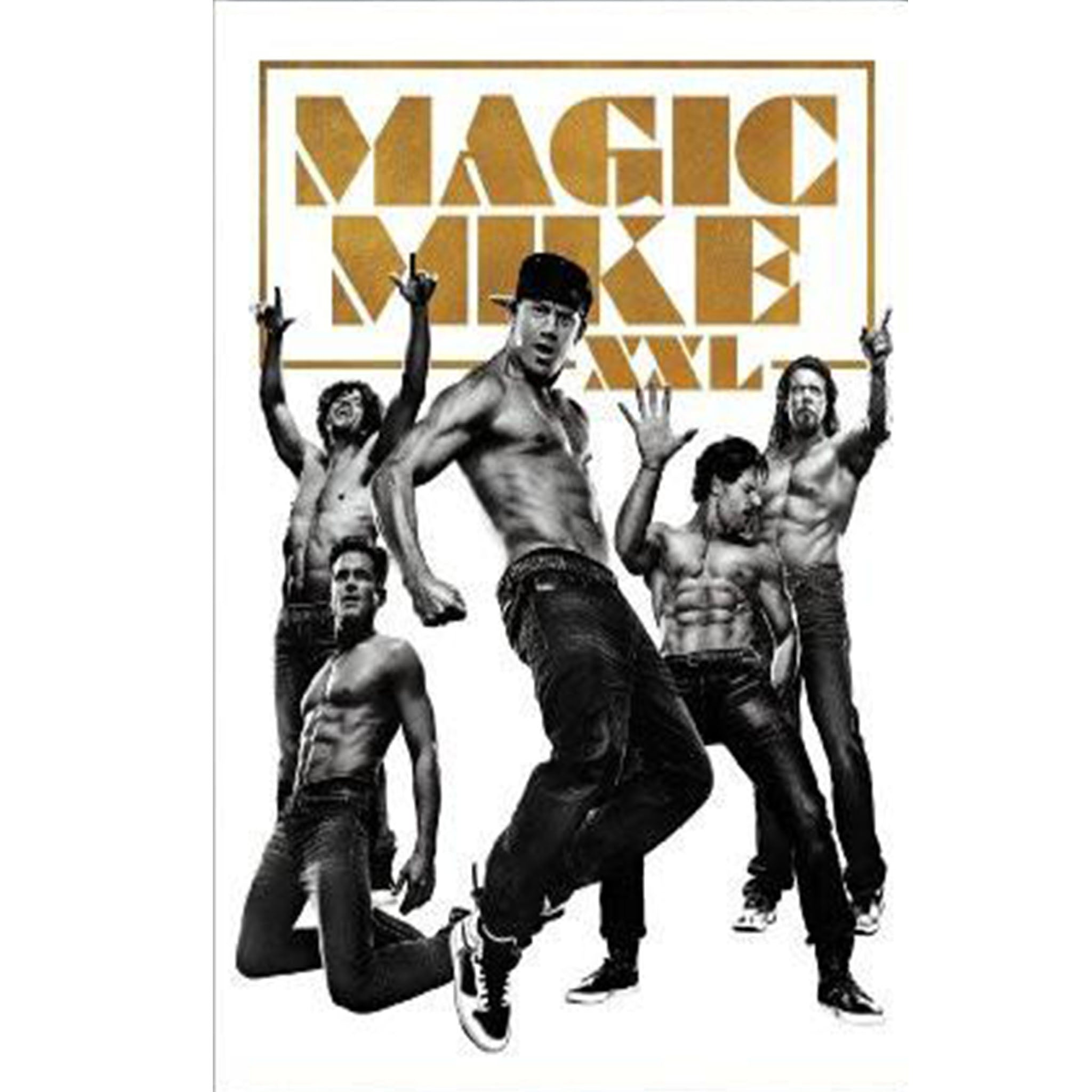 Magic Mike XXL (DVD) - DVDsHQ