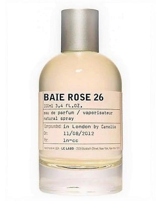 Le Labo Baie Rose 26 Perfume Fragrance Sample Online