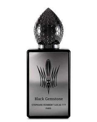 [Black Gemstone Perfume Sample]