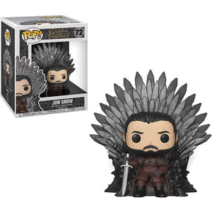 Funko Pop Deluxe: Game of Throne - Jon Snow sur le trône