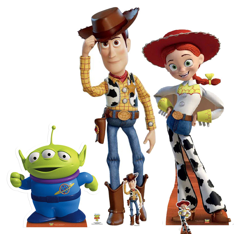 Toy Story - Personnages carton taille réelle