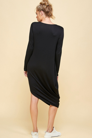 French Terry Full Sleeve Dress | Emma's Closet