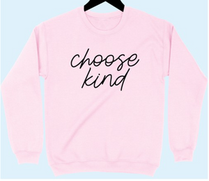 *Coming soon not Sold out* Choose Kind | Light Pink XL-3XL