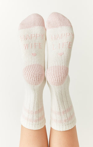 Happy Wife Rib Socks | Z Supply
