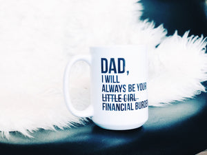 Daddy's Little Girl Mug