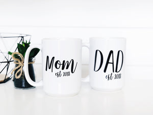 Mom & Dad Est Set
