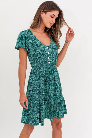Green Dress | S-3XL