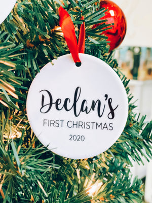 COMING SOON: not sold out Custom Ceramic Ornaments | Pier Prints