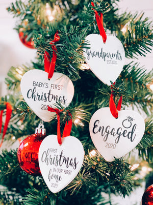 Ceramic Christmas Ornaments | Pier Prints