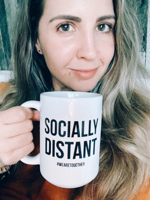 Pre order :Socially Distant Mug