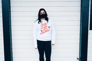 Meet me under the mistle toe | Graphic Sweater