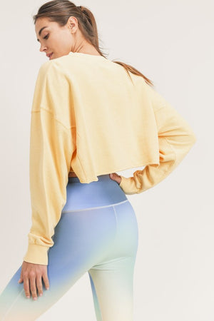 Jackie Mineral Pullover Crop