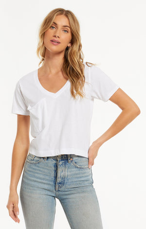 Classic Skimmer Crop Tee | Z Supply