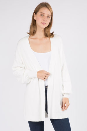 Winter White Stacey Cardigan