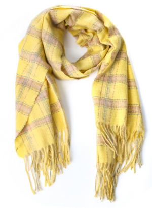 Winter Fringe Collection | Plaid