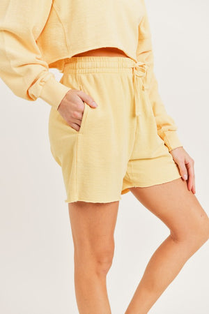 Jackie Mineral Terry Shorts