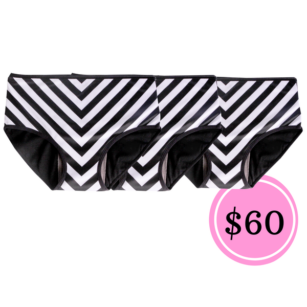 3 PCS MEDIUM CHEVRON