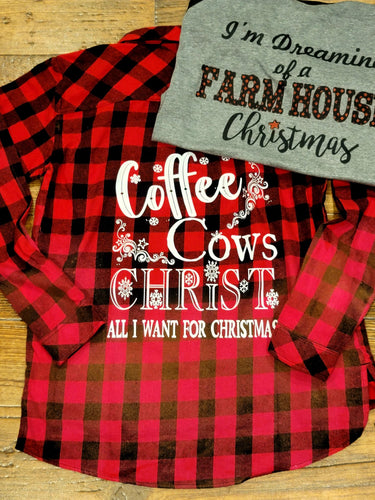 Coffee Cows Christ..Christmas