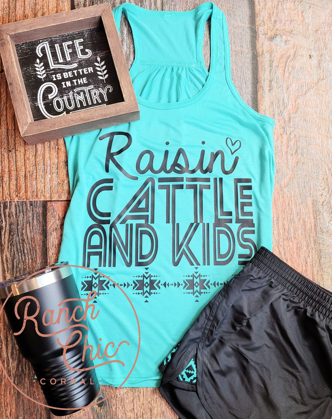 Raisin Cattle & Kids Activewear