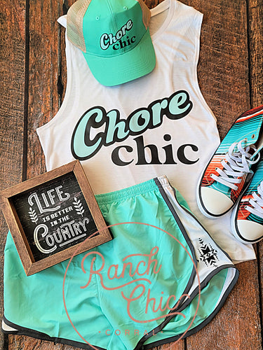 Chore Chic Workout