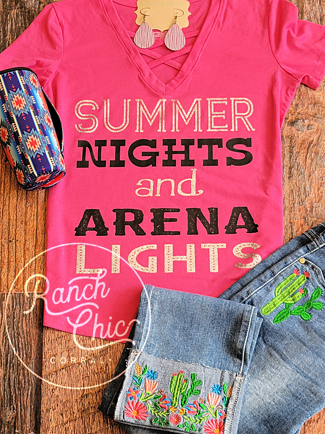 Arena Lights Lady