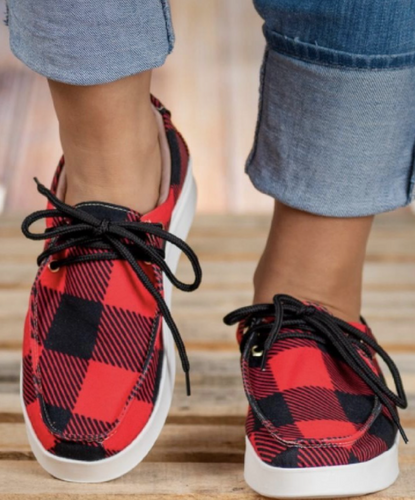 Buffalo Plaid Shoes