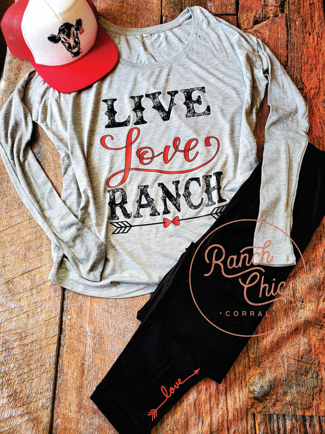 Live Love Ranch Loungewear