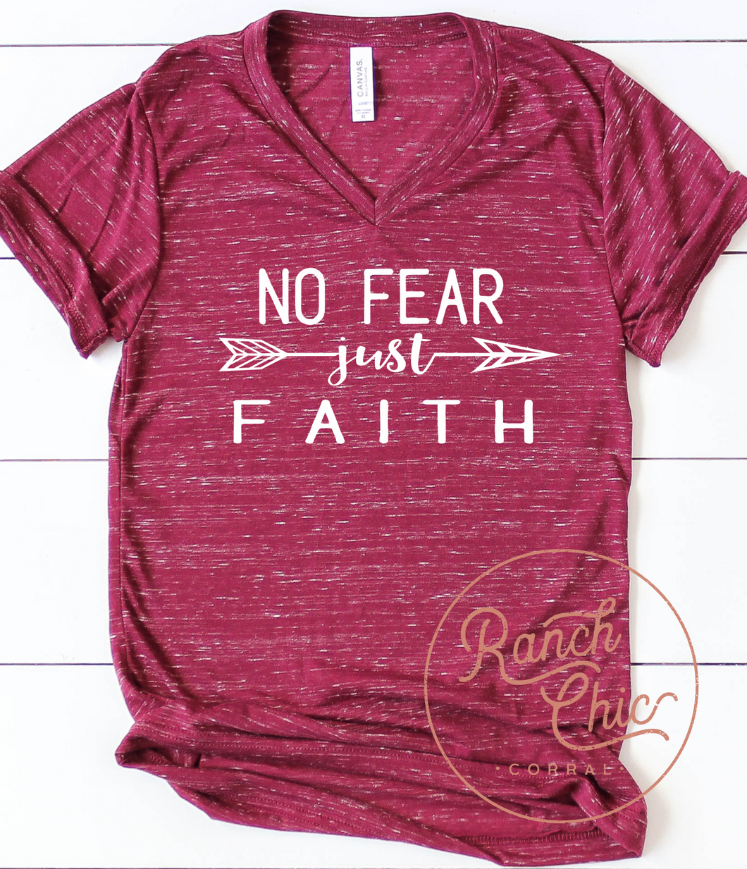 Wednesday Nov. 4th: No Fear Just Faith