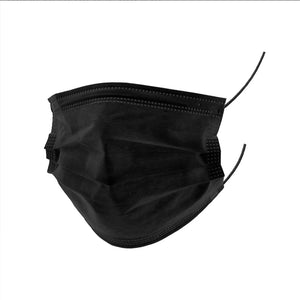 Disposable Face Mask General Use pack of 10 Black