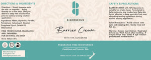 BGorgeous Barrier Cream 500ml