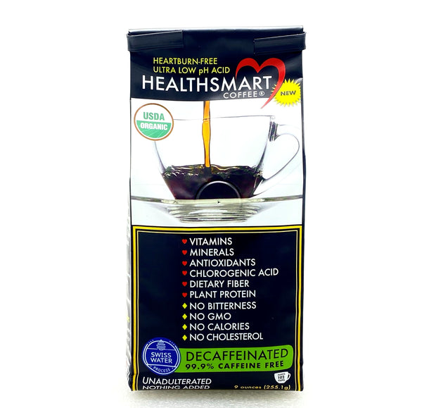 HealthSmart Low Acid Coffee Ground - Decaf