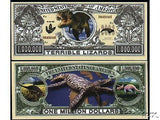 JURASSIc CLASSIc MILLIOn Dollar Bill Novelty...** HURRY!!!! ***