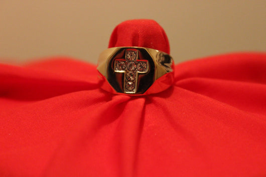 TRIBUTe To THe ONE TRUE KING-JeSUS CHRiST- ELVIs PREsLEY style RinG
