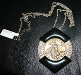 World Premere---Original 1977 ELVIS PRESLEY  St. Gaudens Gold Coin Necklace