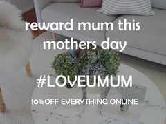 Mothers day 10% Off Promo