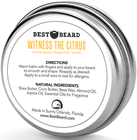 Witness The Citrus - Beard Balm