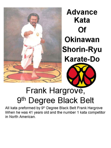 Advance Okinawan Shorin-Ryu Karate-Do Kata (forms) DVD