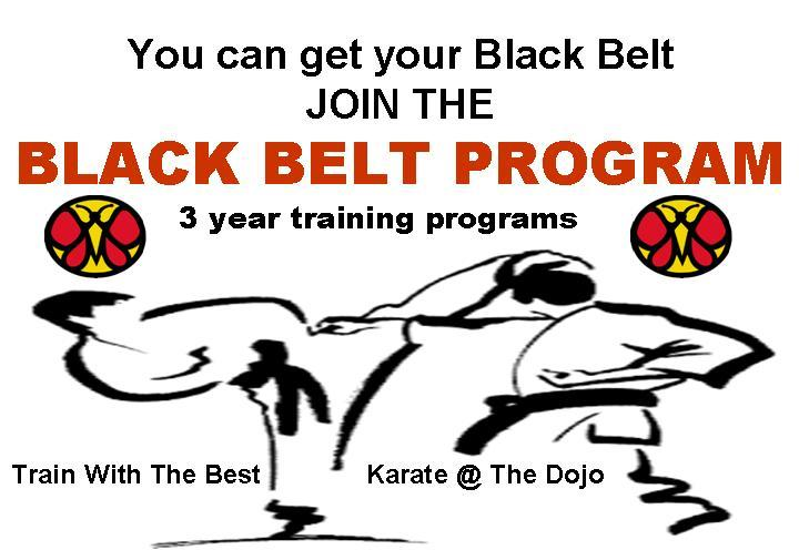 Special Black Belt Program