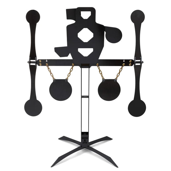 Triple Threat Shooting Target Moving Kit with Spinners and Gongs