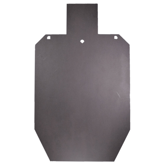 Steel Silhouette Rifle Shooting Target