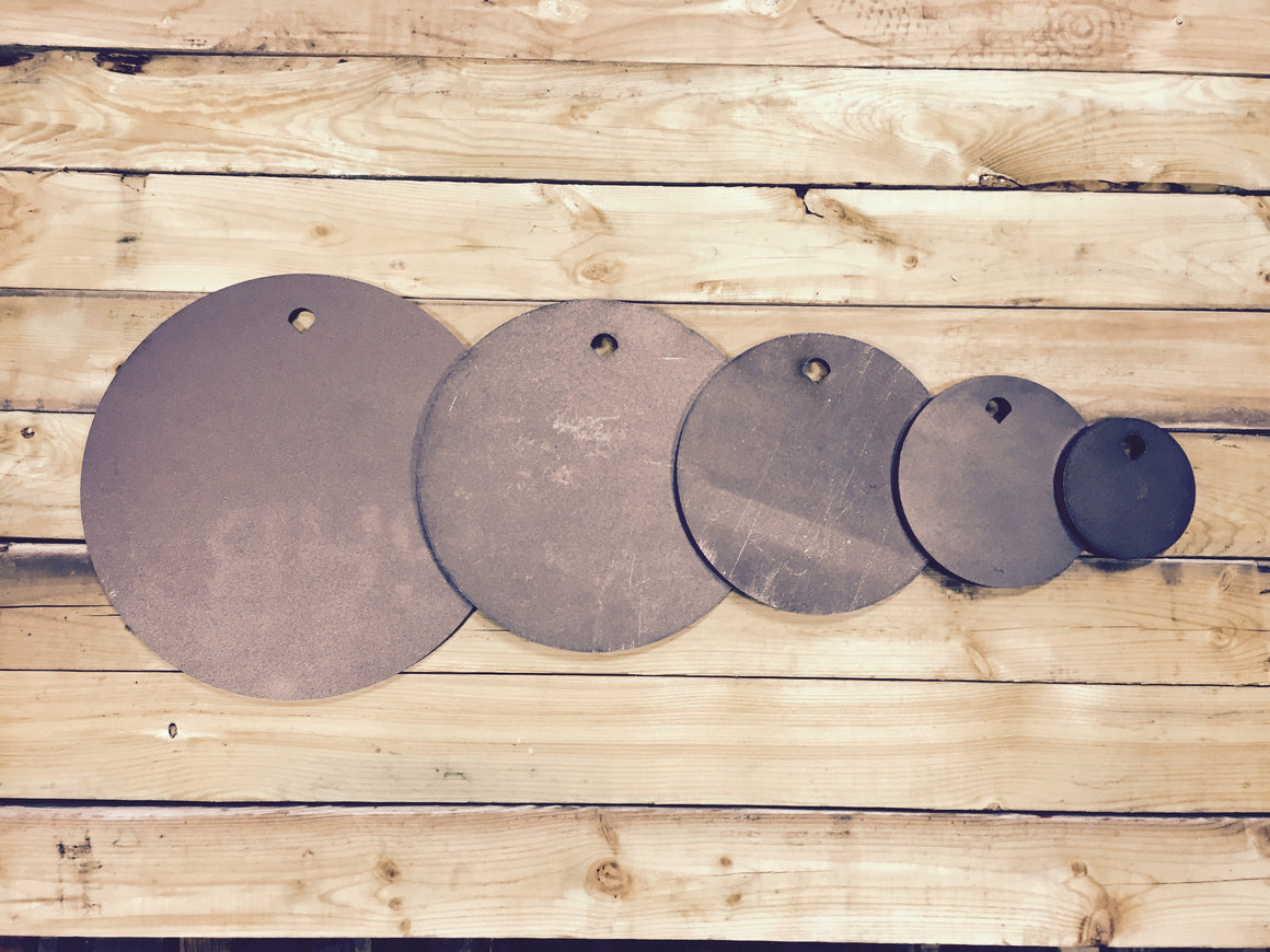 Round Steel Shooting Targets