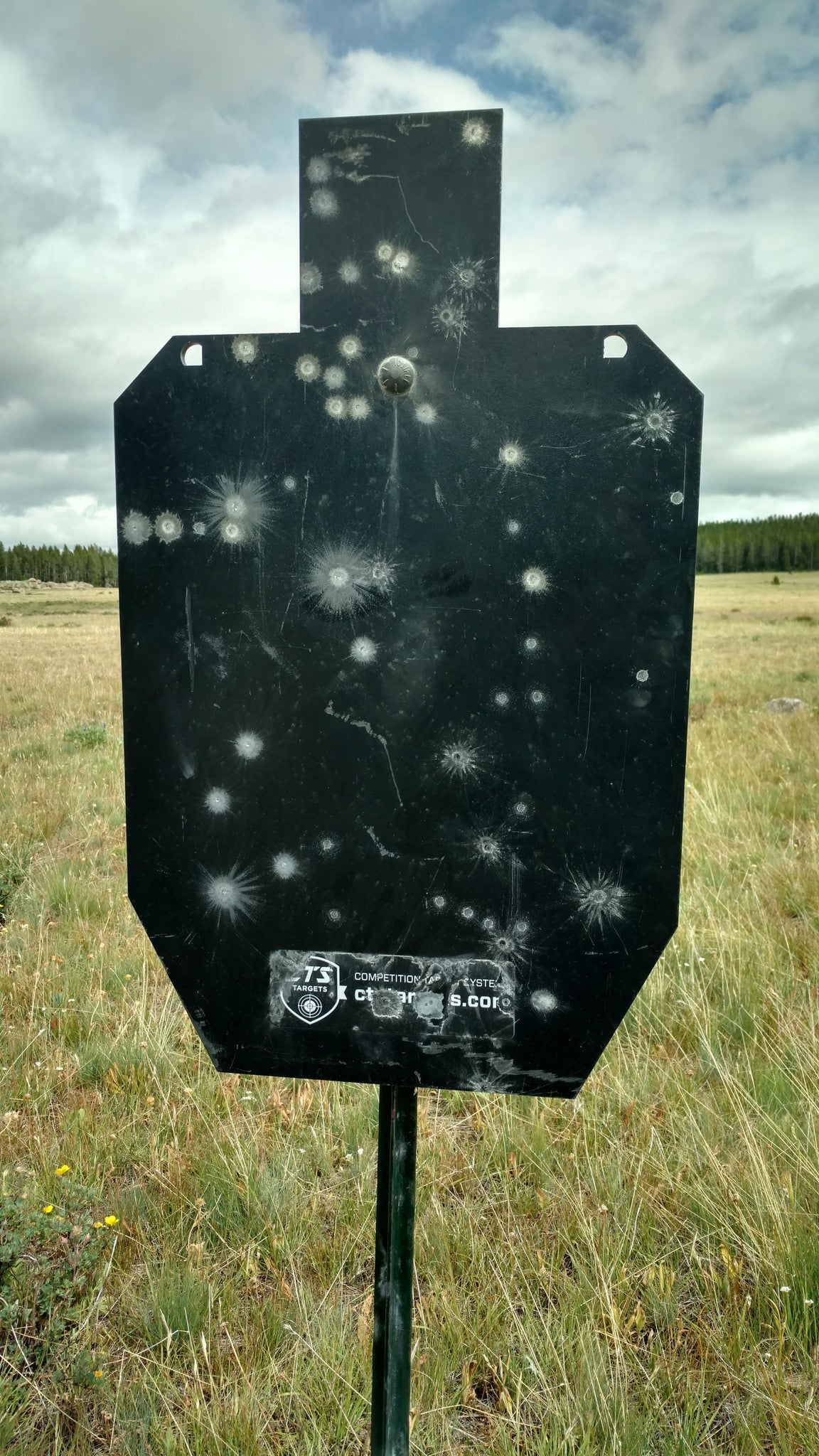 Full Size Silhouette Rifle Target