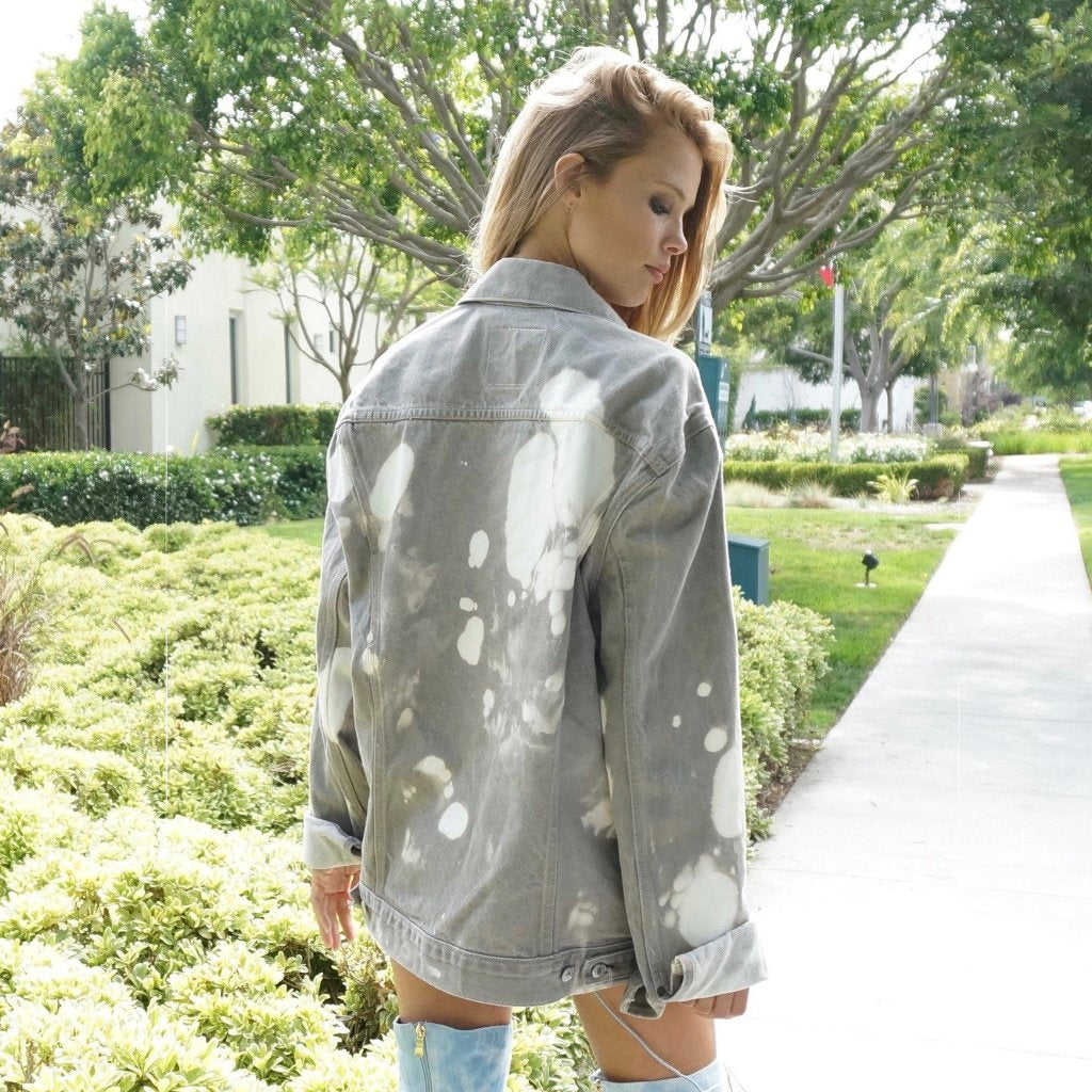 Hot Babe Acid Wash Levi Jacket
