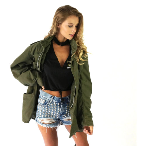 Rough And Tough Military Jacket