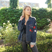 The Flower Of Love Denim Jacket